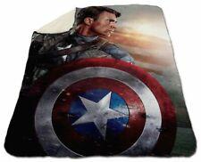 """Chris Evans Blanket Winter 60"""" x 80"""" Queen Size Fleece Captain America"""