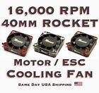 40mm ROCKET 16,000 RPM Aluminum High Velocity 5.0v-8.75v Surpass Cooling Fan