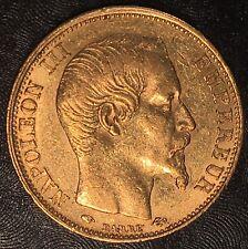 1859-A  FRANCE 20 Francs Gold - High Quality Scans #G076