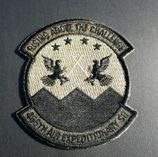 "USAF PATCH 466TH AIR EXPEDITIONARY SQUADRON 2 3/4"" x 2 7/8"" Military Patch USA"