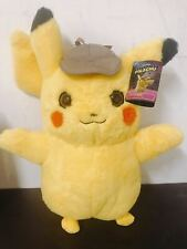 "NEW Pokemon Detective Pikachu 14"" Collectible Soft Stuffed Doll Plush Toy Kid"