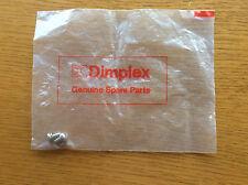 Nuevo Dimplex Tornillos, calentador eléctrico, Opti-efecto de la llama fuego, Convector, almacenamiento de información