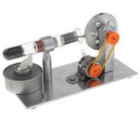 Motor Stirling Térmico de Combustión Interna Potencia de Calor Generador