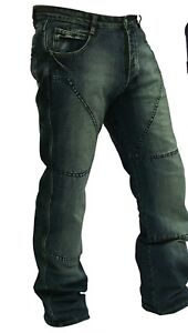 Motorcycle Jeans trousers Hornee SA-M4 Relax Fit Burnt Blue -