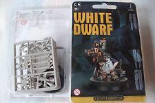 Games Workshop Warhammer White Dwarf 2013 The Director Dwarf Finecast New OOP