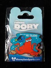 Pins Disney Dlp Paris Pin Hank The Octopus Finding Dory New Rule No Talking