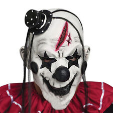 Halloween Clown Latex Mask Face Fancy Party Costume Scary Horror Chamber Props