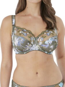 Fantasie Emmie Bra 6922 Full Cup Side Support Underwired Lingerie Evergreen