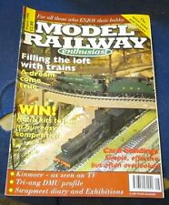 MODEL RAILWAY ENTHUSIAST MAGAZINE AUGUST 1996 - FILLING THE LOFT WITH TRAINS