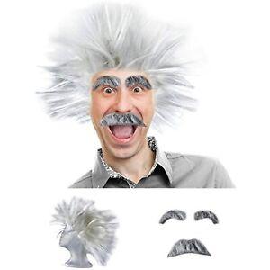 Tigerdoe Mad Scientist Costume - Scientist Costume - Scientist Wig - Physicist