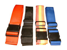 "Luggage straps 2"",security strap,tie down straps, assorted colors Made in USA."