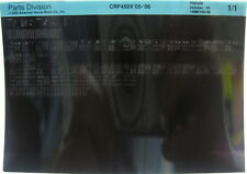 Honda CRF450X 2005 - 2006 Parts List Microfiche h268