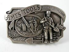 1984 Ames Tools Fights For Freedom Belt Buckle By SISKIYOU 91616
