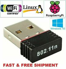 Realtek Mini USB Wireless 802.11B/G/N LAN Card WiFi Network Adapter RTL8188