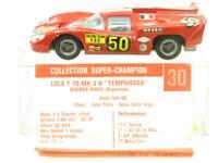 Super Champion Diecast #30 Lola T70 Mk3 B Temporada Buenos Aires 1 43 Scale