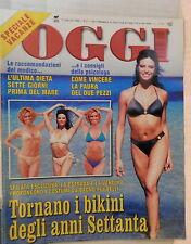 OGGI 7 luglio 1999 Bikini Sarah Farguson Evelina Christillin Botero Firenze di
