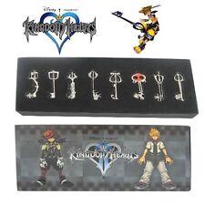 Kingdom Hearts II 8 KEY BLADE Sora Necklace Pendant #