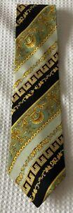 Versace  silk  tie authentic