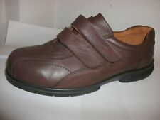 DB easyb Jimmy Brown Leather Two Adjustable  Straps Size 10 (6V)