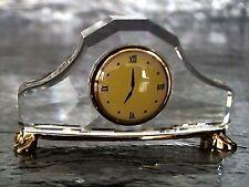 Swarovski Crystal Memories Mantel Clock - Figurine - Retired - NIB - Certificate