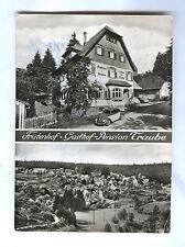 Ansichtskarte AK Grüntal - FRUTENHOF Freudenstadt Schwarzwald 1957 VW-Käfer sw