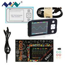 Miniware DS211 Oszilloskop Tragbar Digital Lagerung ARM 1MSa / s mit MCX Sonde