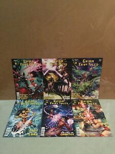 Zenescope Grimm Fairy Tales Comic Lot 19-24 All Cover B