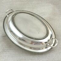 Antique Silver Plated Serving Dish Entree Tureen Vegetable Bowl Waring Gillow