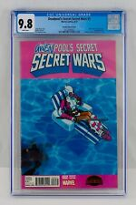 Deadpool's Secret Wars #2 CGC 9.8 Bachalo Variant First Gwenpool Appearance 1st