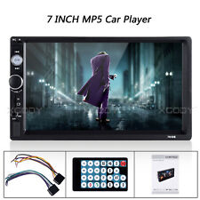7 Inch Double 2 Din Car MP5 MP3 Player BT Stereo FM Radio USB TF Touch Screen
