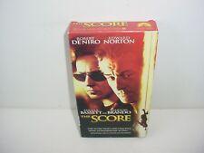 The Score VHS Video Tape Movie