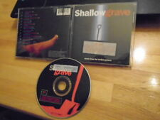 RARE OOP PROMO Shallow Grave CD soundtrack Leftfield Simon Boswell DANNY BOYLE !