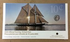 2005 Sealed First Day Royal Canadian Mint Ten Cent Dime not silver