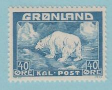 Greenland 8 Mint Hinged OG * - NO FAULTS VERY FINE !