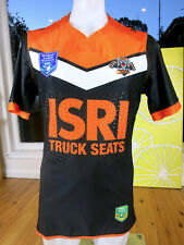 WEST TIGERS 2017 INTRUST SUPER PREMIERSHIP MATCH JERSEY PLAYER ISSUED MENS SIZE