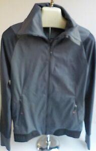 GORE Bike Wear  Cycling Jacket Gray/Black Windstopper Soft Shell SZ MED