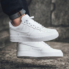 All White Air Force 1 Sneakers for Men
