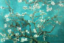 Vincent Van Gogh Almond Blossom Branches Post Impressionist Art Poster - 36x24