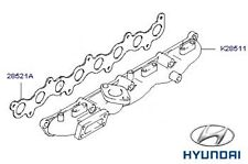 Genuine Hyundai Terracan Exhaust Manifold - 285154X701