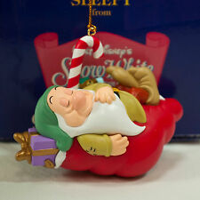 Grolier Presidents Edition - Sleepy from Snow White Seven Dwarfs Ornament Disney
