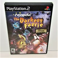 Neopets: The Darkest Faerie (Sony PlayStation 2, 2005) No Manual Tested & Works