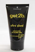 got2b ultra glued indestrucible styling gel zero gravity non-sticky hold 150ml