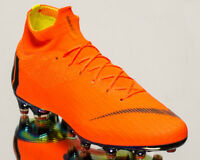 Nike Mercurial Superfly 6 Elite AG-PRO Total Orange Soccer Football Cleats Shoes