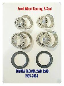FRONT WHEEL BEARING & SEAL. TOYOTA TACOMA 2WD. RWD . 1995-2004