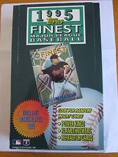 ULTRA RARE!!! Cal Ripken Jr. 1995 Topps Finest Empty Wax Box w/ Blankback card