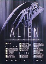 CARTES - CARDS DE COLLECTION SERIE CINEMA FILM ALIEN NUMERO 90