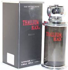 THALLIUM BLACK 3.4 OZ EDT SPRAY FOR MEN BY JACQUES EVARD & NEW IN A BOX