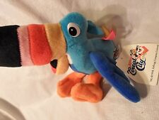 "Kellogg's Cereal City Tucan Sam Parrot 10"" Plush Soft Toy Stuffed Animal"