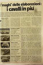 ARTICOLO i maghi delle elaborazioni fiat 500 595 giannini alfa romeo    -  1975
