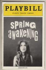 "Lea Michele & Jonathan Groff  ""Spring Awakening""   Off-Broadway  Playbill  2006"